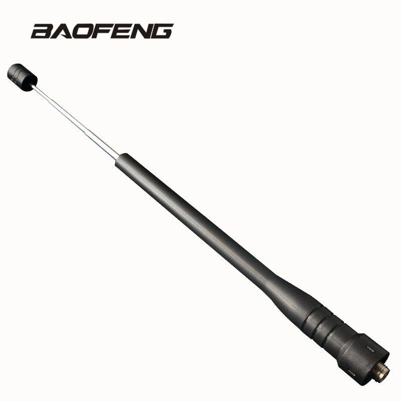 Tige télescopique gain Antenne pour Baofeng talkie walkie Double Bande UHF pour Portable Radio UV-5R BF-888S UV-5RE UV-82 UV-3R