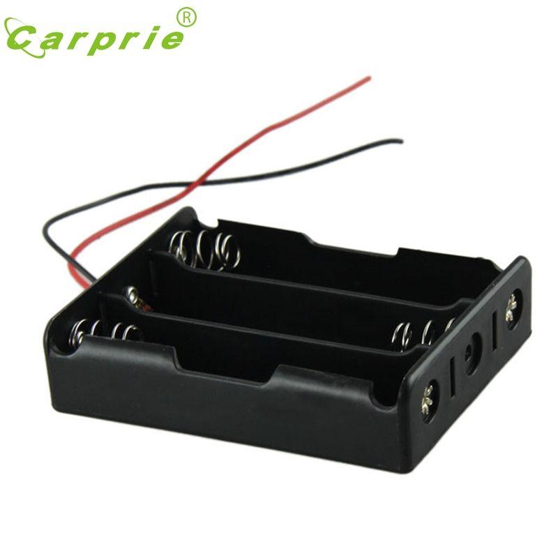 Kunststoff Batterie-speicher-fall-kasten-halter Für 3x18650 Schwarz Mit 3 standard 12V_KXL0228