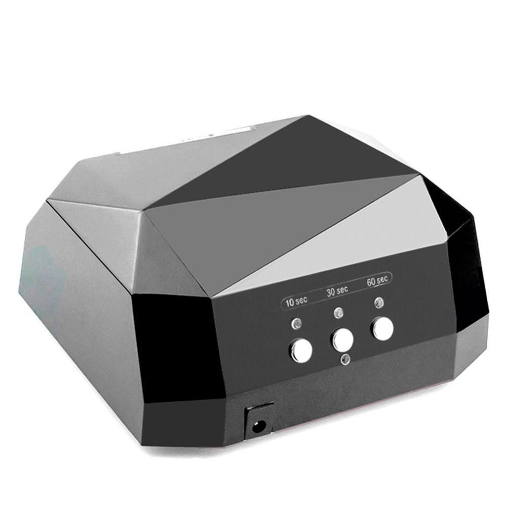 36 w LED Lampe UV Nail Sèche-Lampe pour Nail UV Gel Polish Diamant Forme Nail CCFL Lampe UV 10 /30/60 s Minuterie Manucure Machine Outils