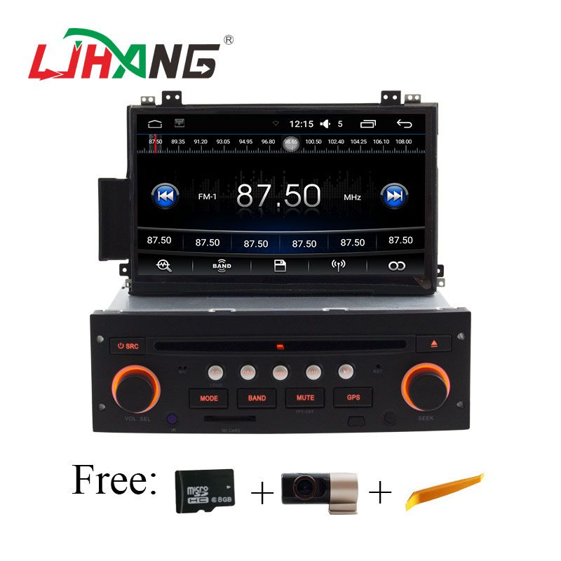 LJHANG 1 Din Android 6.0 Car dvd Player for Citroen C5 Multimedia GPS navigaiton radio stereo Steering Wheel control Automotive