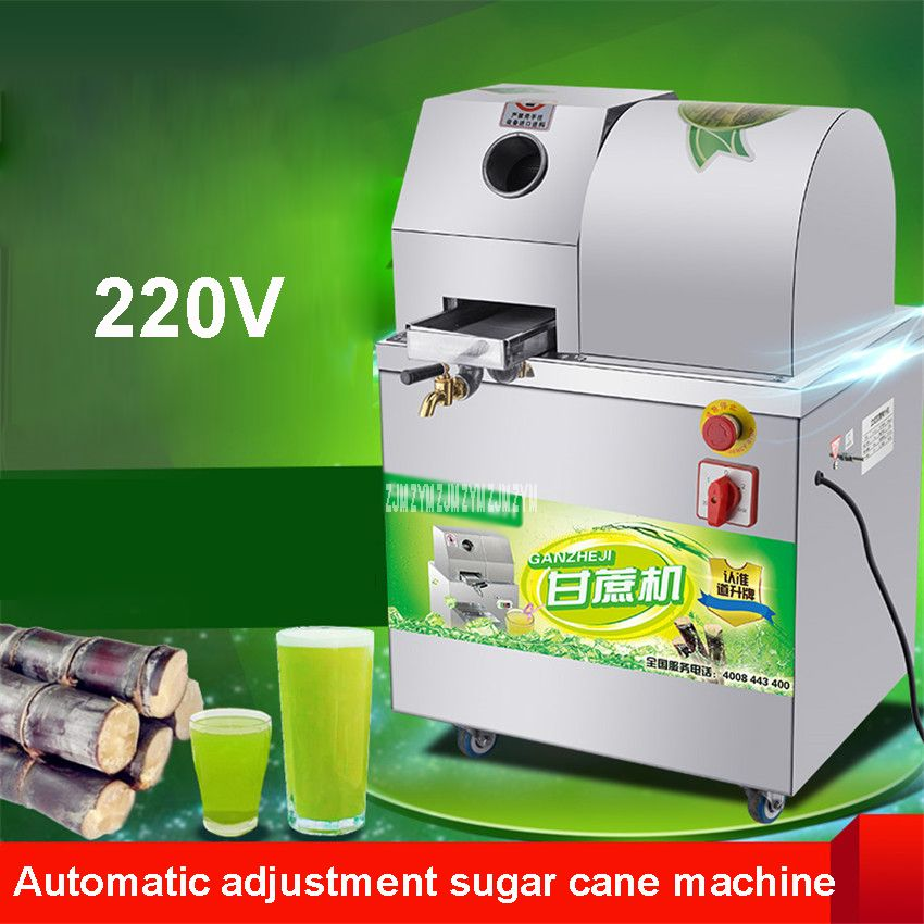 SXC-80 Automatic Adjustment Sugar Cane Machine Sugarcane Juicer Press Machine Juicer Extractor Juice Extractor Juicer 300kg / h