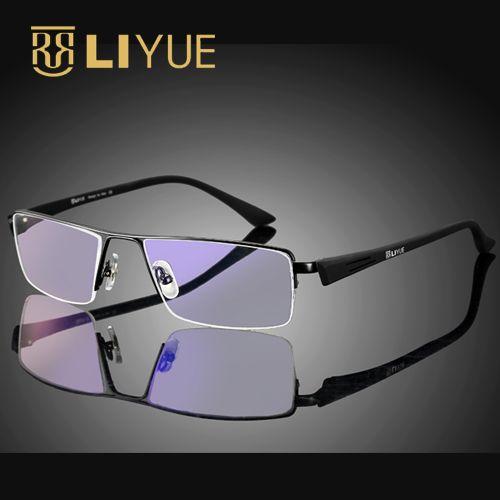 Computer Goggles Anti Blue Ray Glasses men eyewear frame anti <font><b>radiation</b></font> ultraviolet prescription eyeglasses women 8157