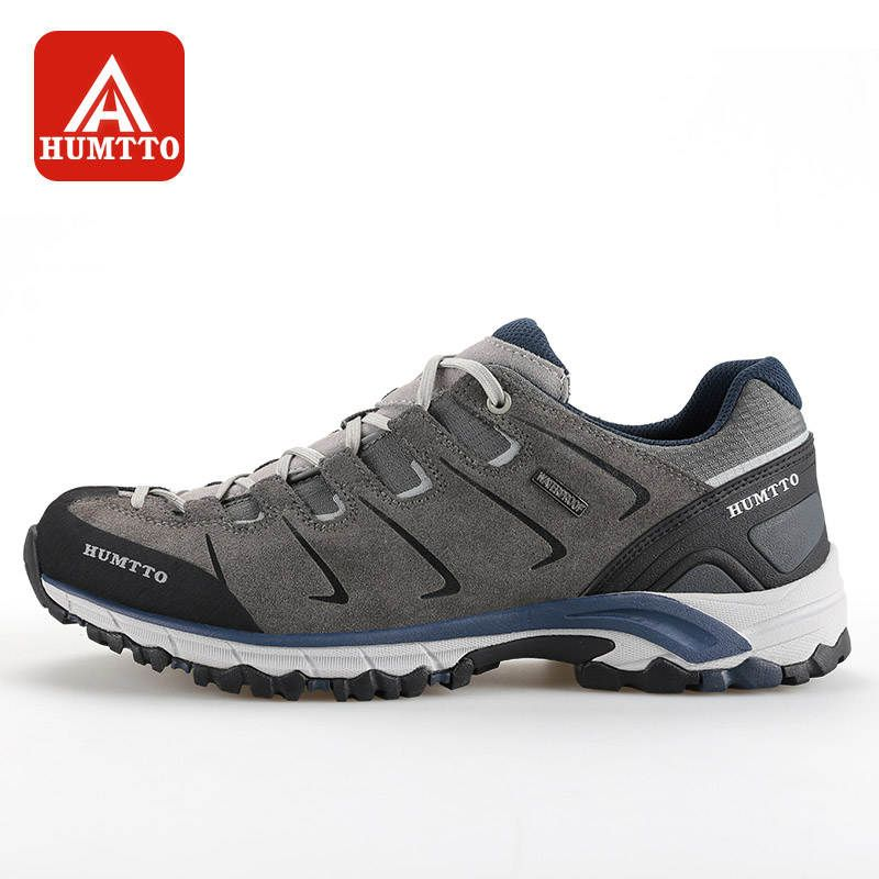 HUMTTO Walking Shoes Men Winter Outdoor Sneakers Water Repellent Anti-collision and Comfortable Trekking Shoes