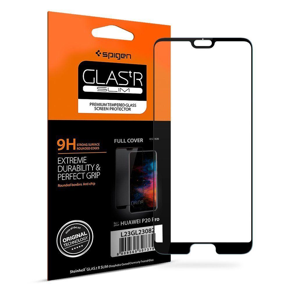 100% Original SPIGEN Huawei P20 Pro Screen Protector Glas.tR Full Coverage Tempered Glass L23GL23082