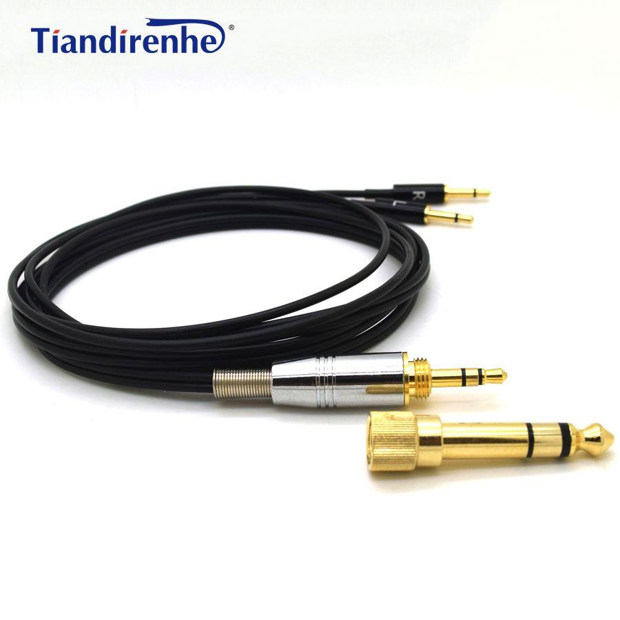 Amélioré Casque Câble pour Sennheiser HD477 HD497 HD212 pro EH250 EH350 Casque Remplacement Audio Fil 6.35/3.5mm à 2.5mm