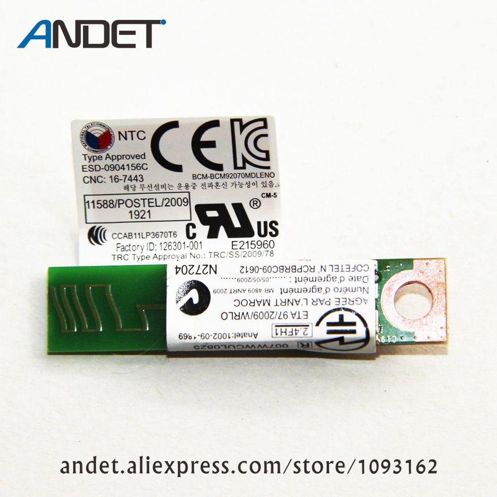 Оригинальный 4.0 модуль Bluetooth для Lenovo ThinkPad X230 T430 t430s T530 W530 FRU 60y3303 60y3305