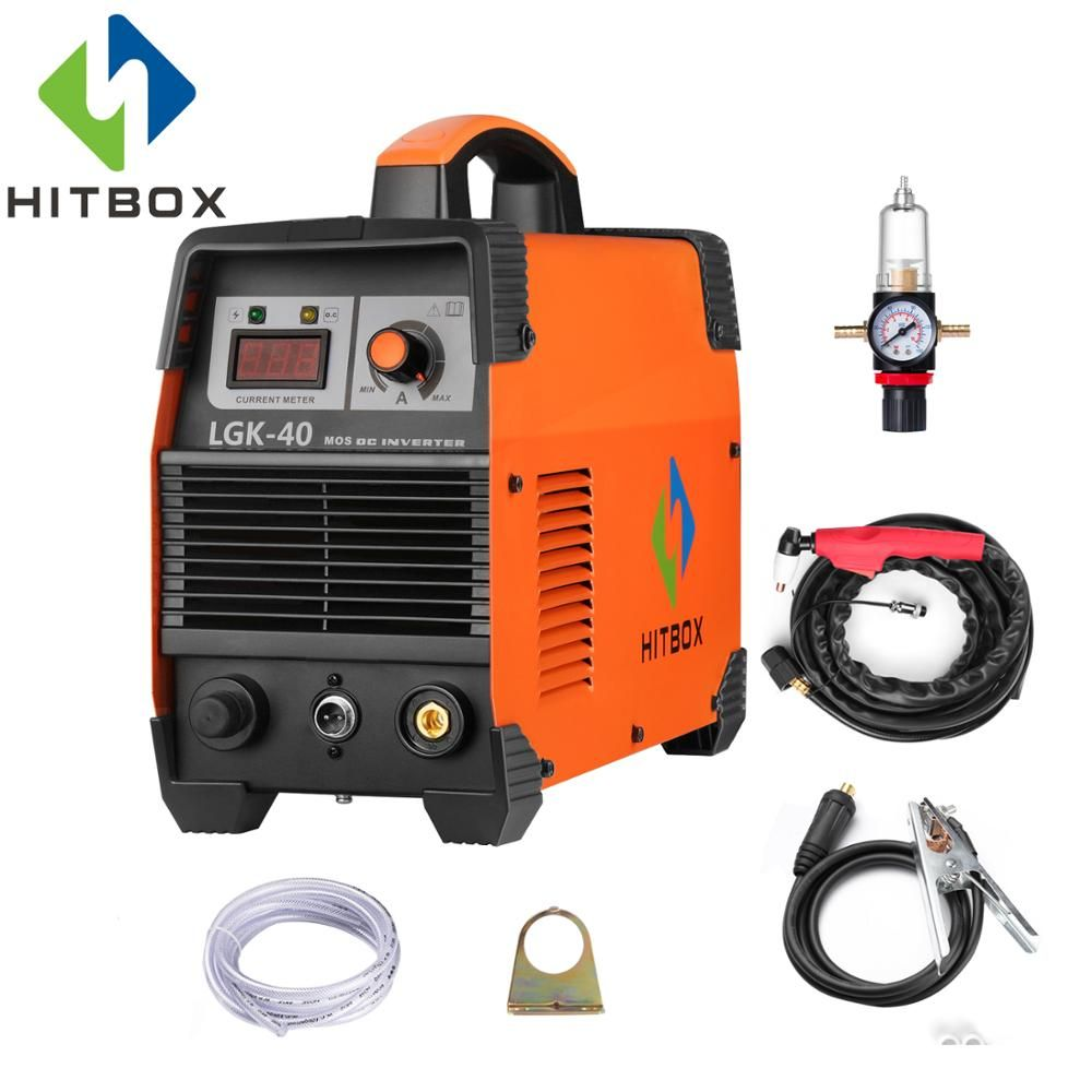 HITBOX Gas Plasma Cutter CUT40 Cutting Thickness 12mm For Carbon Steel Stainless Steel Aluminum Steel Cutting