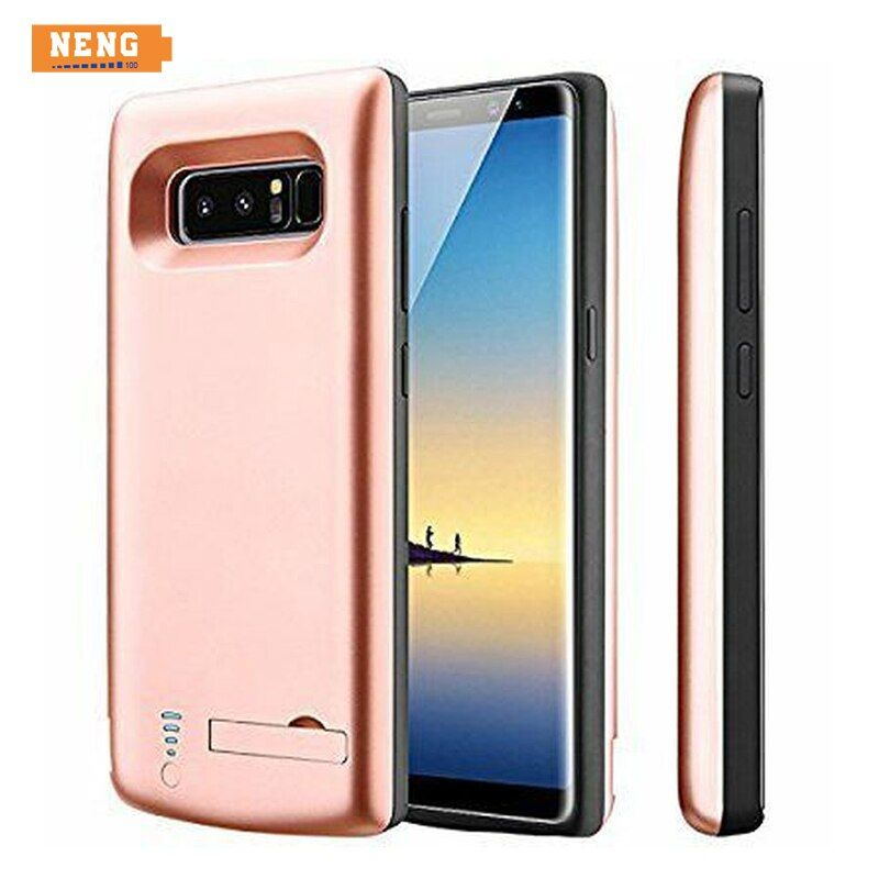 NENG New 6500mAh Battery Case for Samsung Galaxy Note 8 Battery Power Bank Pack External Charger Cover Charge Backup Extra