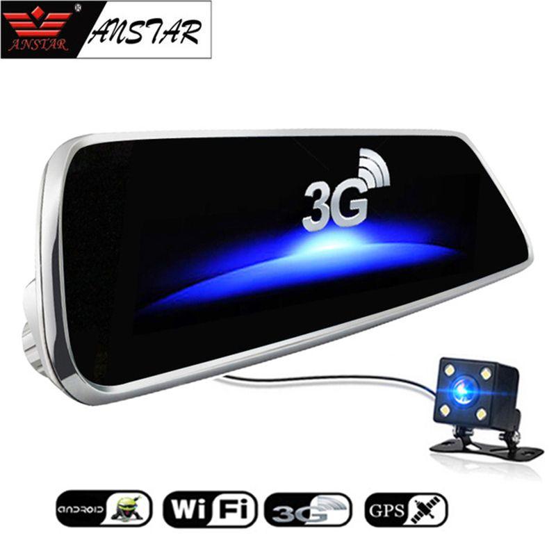 ANSTAR 7 ''Voiture Caméra DVR 3G Android 5.0 WiFi Voiture DVR Dash Cam FHD 1080 P 140 Degrés Enregistreur Vidéo Registraire Tactile Écran NOUVEAU