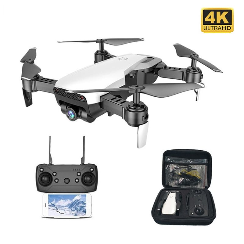 Teeggi M69G FPV RC Drone 4K 1080P Camera Optical Flow Selfie Dron Foldable RC Quadcopter Helicopter VS VISUO XS816 SG106 M70