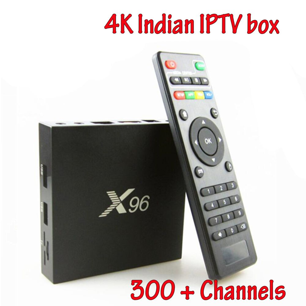 Free Indian Iptv Box S905X Quad Core Android Live TV Box BT 4.0 4K HD Internet 2GB 16GB Streaming Media Player