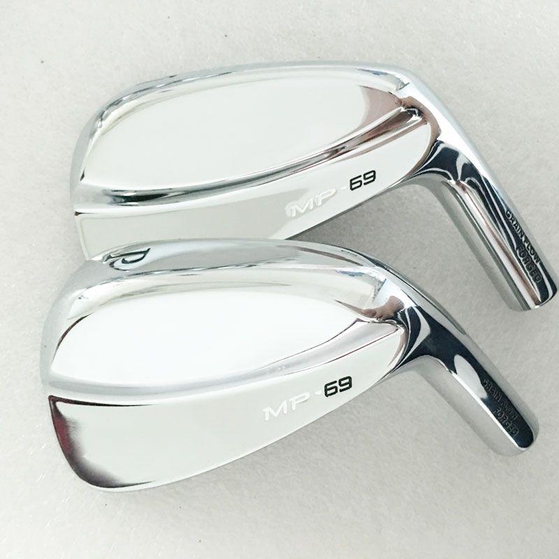 Cooyute New mens Golf heads MP-69 Soft iron Golf irons heads set 3-9P Irons clubs head no Golf shaft  Free shipping