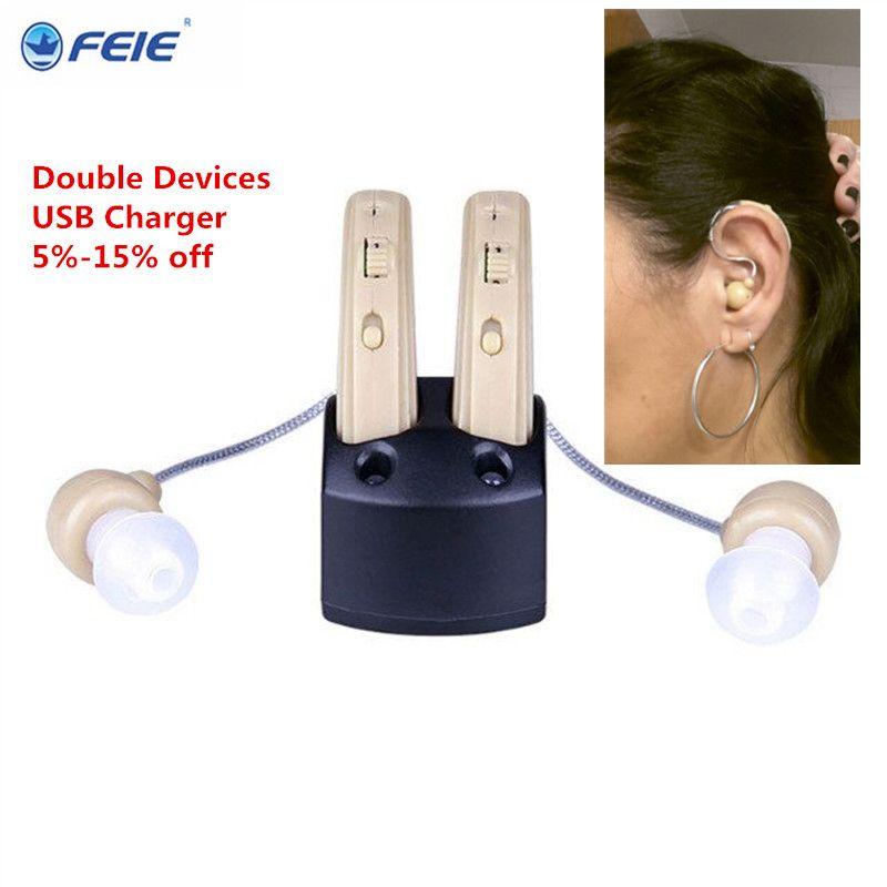 Дешевые цены помощник слуховая аккумуляторная платно feie слуховой аппарат слушать устройство S-109S free доставка