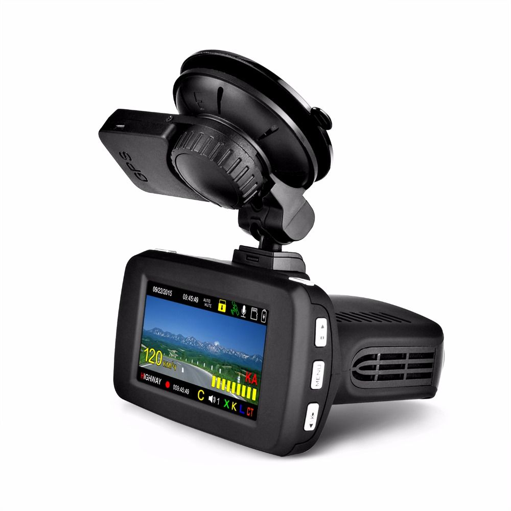 luturadar Car dvr radar detector Russian GPS Speedcam Database dvr camera Ambarella A7LA50D 1296P with Russian Voice alert