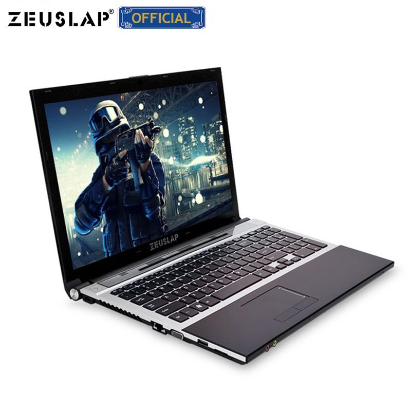 15,6 zoll intel core i7 8gb ram 500gb HDD 1920x1080 volle hd bildschirm Windows 10 system mit DVD ROM notebook PC Laptop Computer