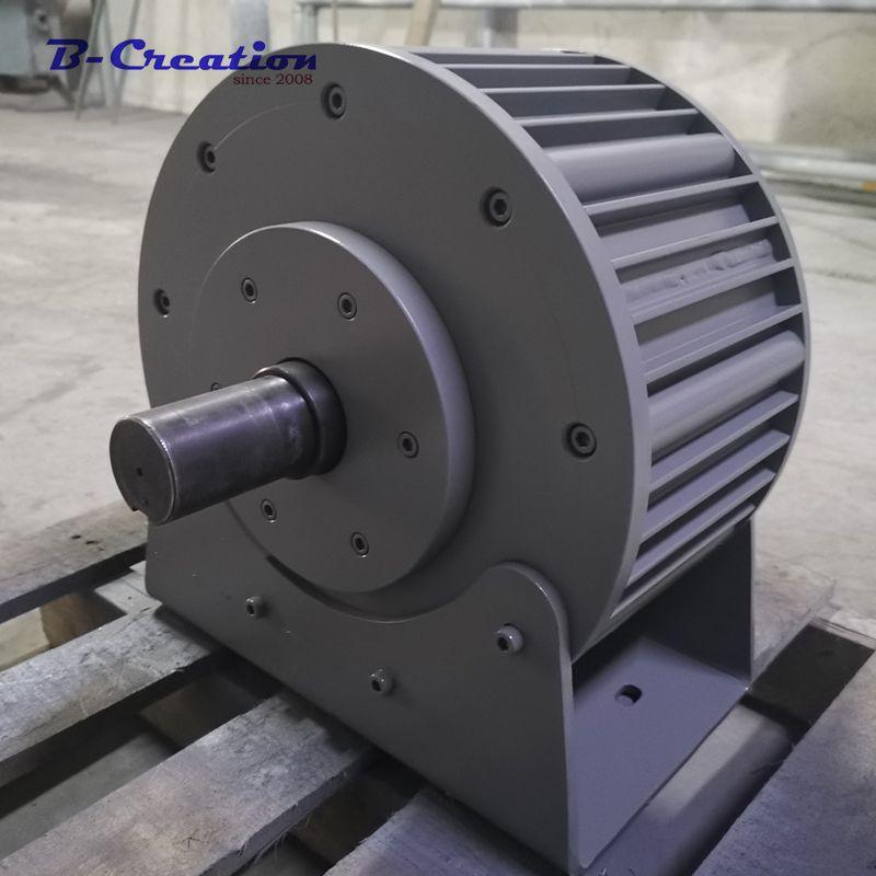Fabrik preis 5000 w/5KW wind power generator Niedrigen DREHZAHLEN AC 220 V 380 V Drei Phase Permanent Magnet generator für den heimgebrauch