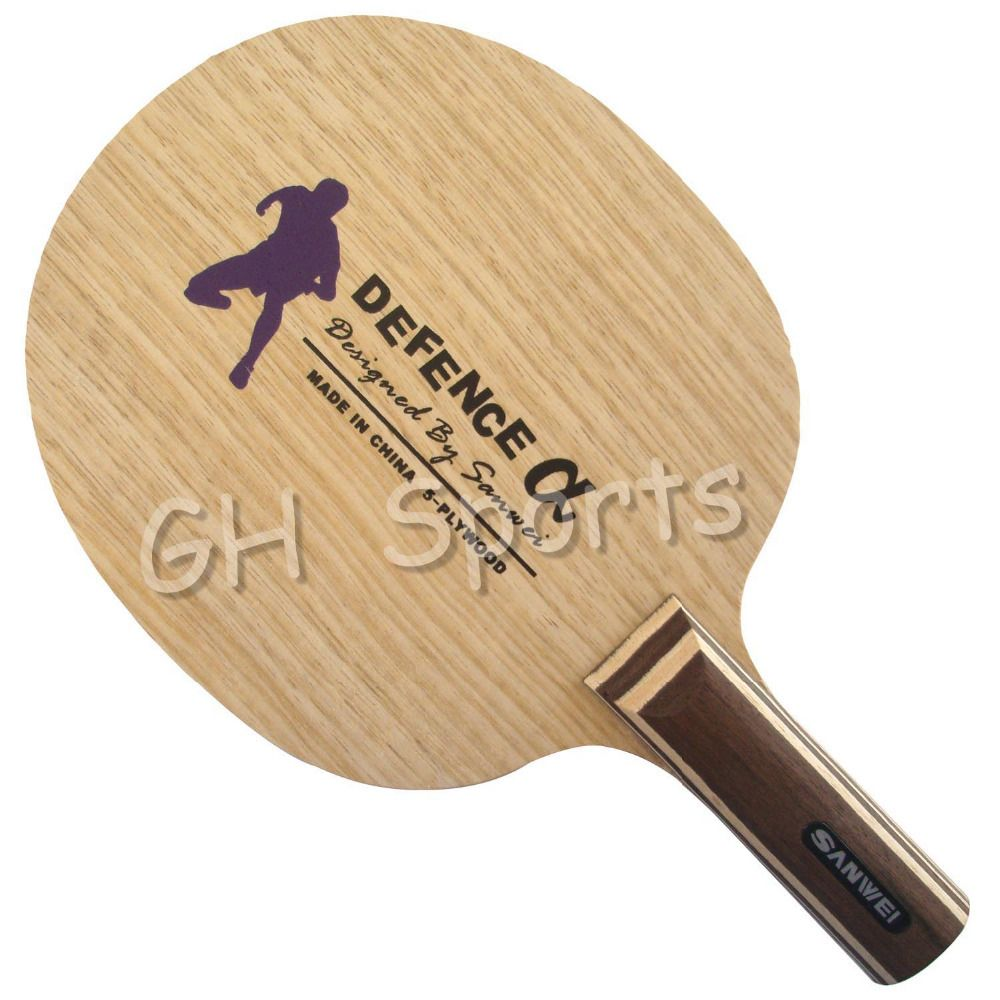 Sanwei DEFENCE Alpha Table Tennis Blade for Ping Pong Racket