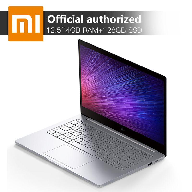 Xiaomi MI Notebook Air 12.5'' 4GB RAM 128GB SSD Intel Core M-7Y30 Dual Core Laptop Ultraslim Windows10 Backlit Keyboard Computer