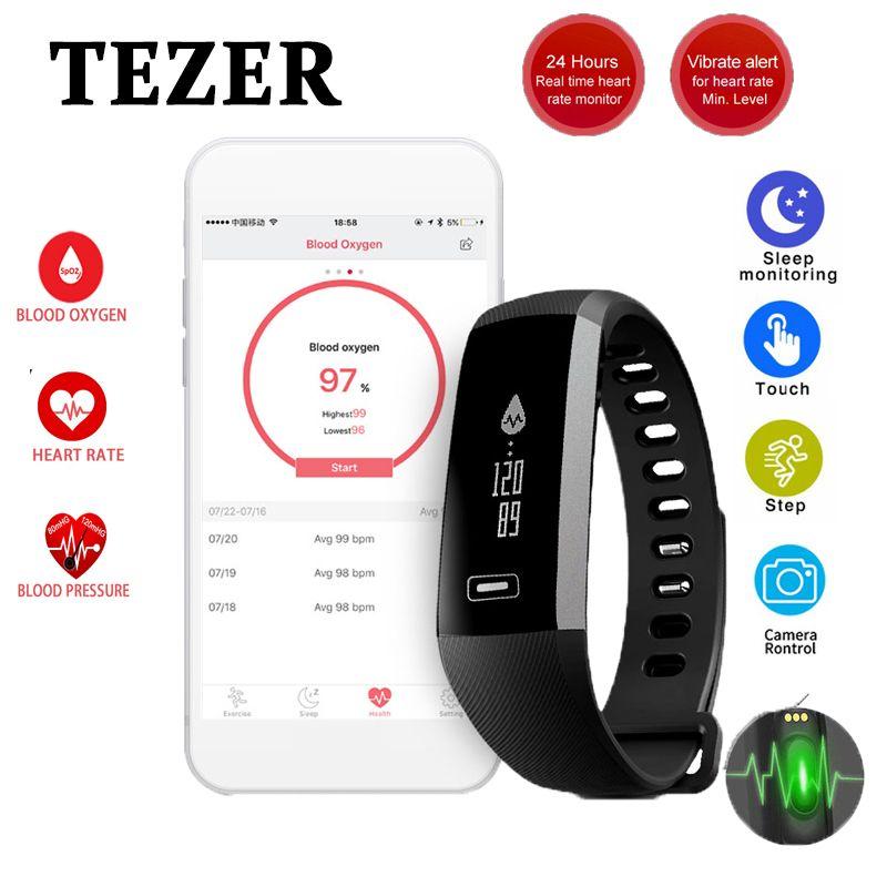 Original R5 pro sports Smart Fitnes Wrist band Bracelet Bluetooth 4.0 Passometer Sleep Monitor Alarm black Message/call Reminder