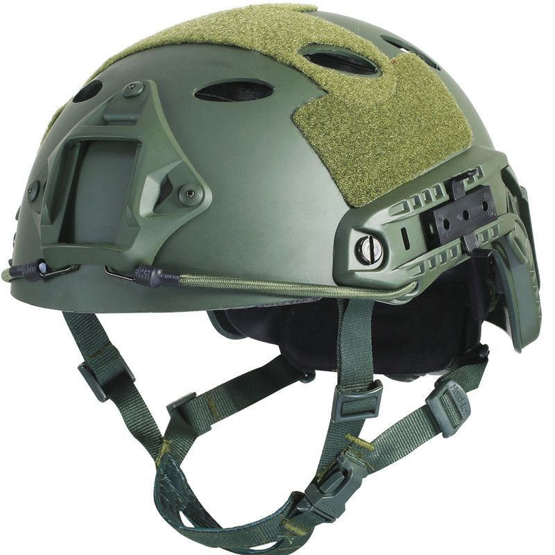 Army Military Tactical Helmet Fast PJ Cover Casco Airsoft Helmet Sports Accessories Paintball Fast Jumping Protective <font><b>Face</b></font> Mask