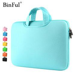 BinFul многоцветный мягкий ноутбук рукав 11 13 15 15,6 дюймов Сумка для ноутбука чехол для MacBook Air 13 Pro Retina 15 Тетрадь сумки 12 ''14''