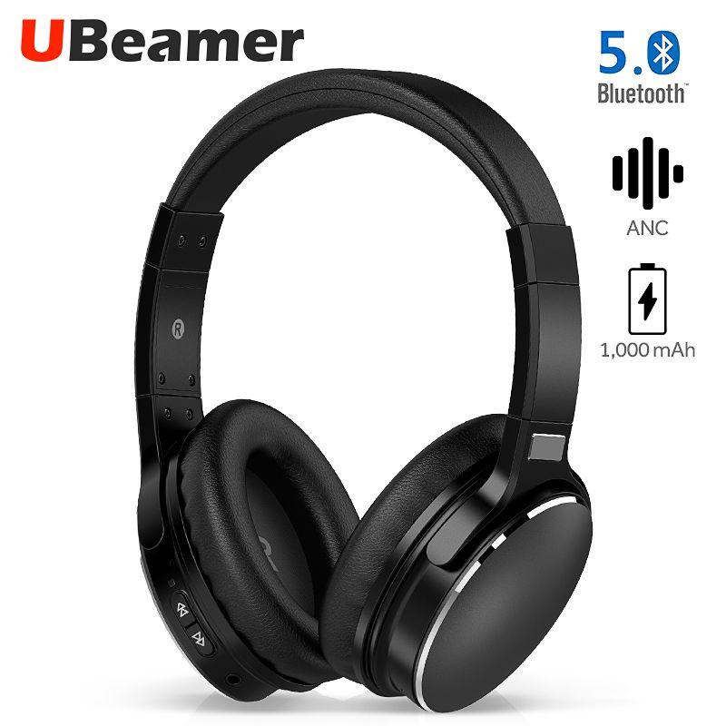 Ubeamer H1 Aktive Geräuschunterdrückung Bluetooth 5,0 Headset integrierte 1,000 mAh batterie lange standby drahtlose kopfhörer musik