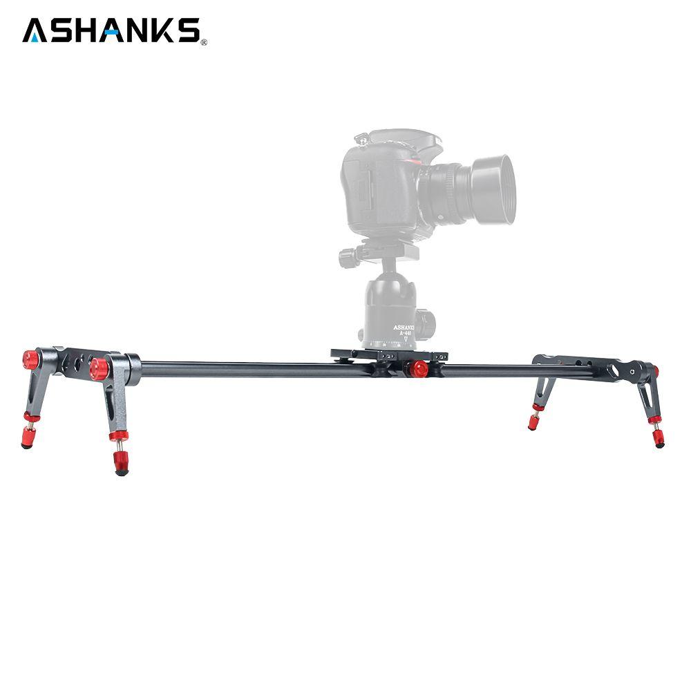 Ashanks 60 cm 4 Lager kamera Slider Aluminiumlegierung DV Slider Track Video Stabilizer Gleis Schieber Für DSLR oder Camcorder