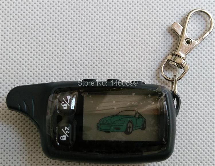 TW 9030 LCD Remote Controller Key Fob, Tamarack for Tomahawk TW9030 two way car alarm system /Russian Tomahawk TW-9030 Keychain