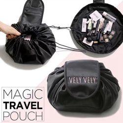 Creative Paresseux Cosmétique Sac Grande Capacité Portable Cordon de Stockage de Maquillage Artefact Magique Voyage Pouch Make Up Beauté Lavage Kit
