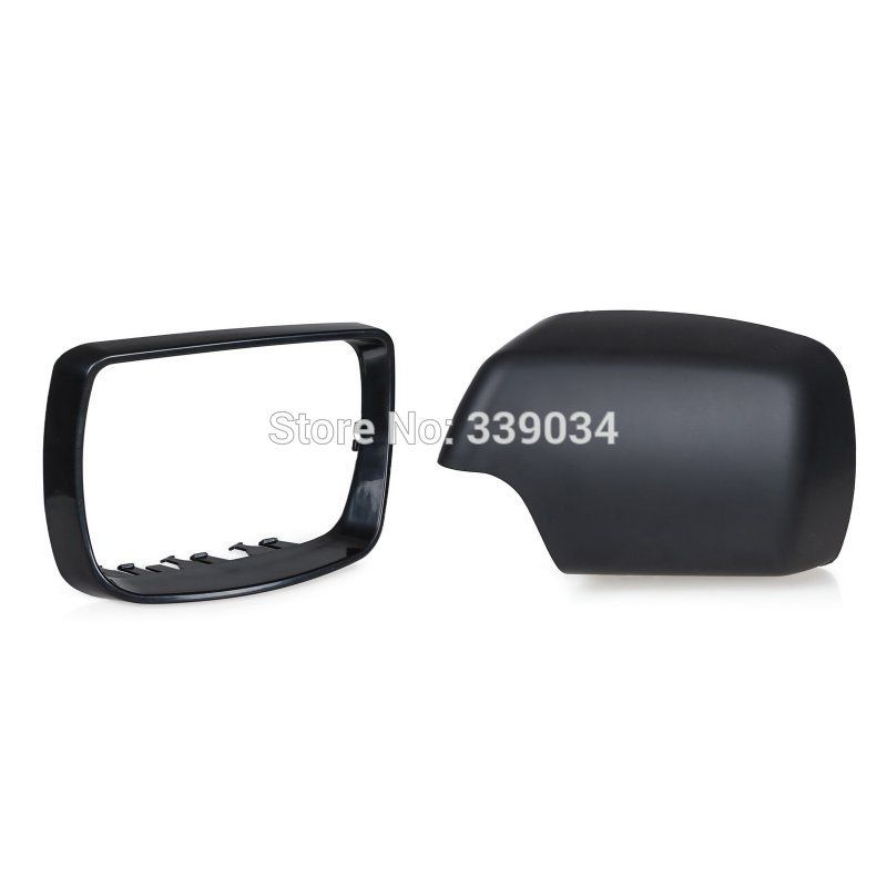 For BMW E53 X5 Left Right Side Door Mirror Cover Trim 2000 2001 2002 2003 2004 2005 2006 Rearview Mirror Cover Cap 51168256321