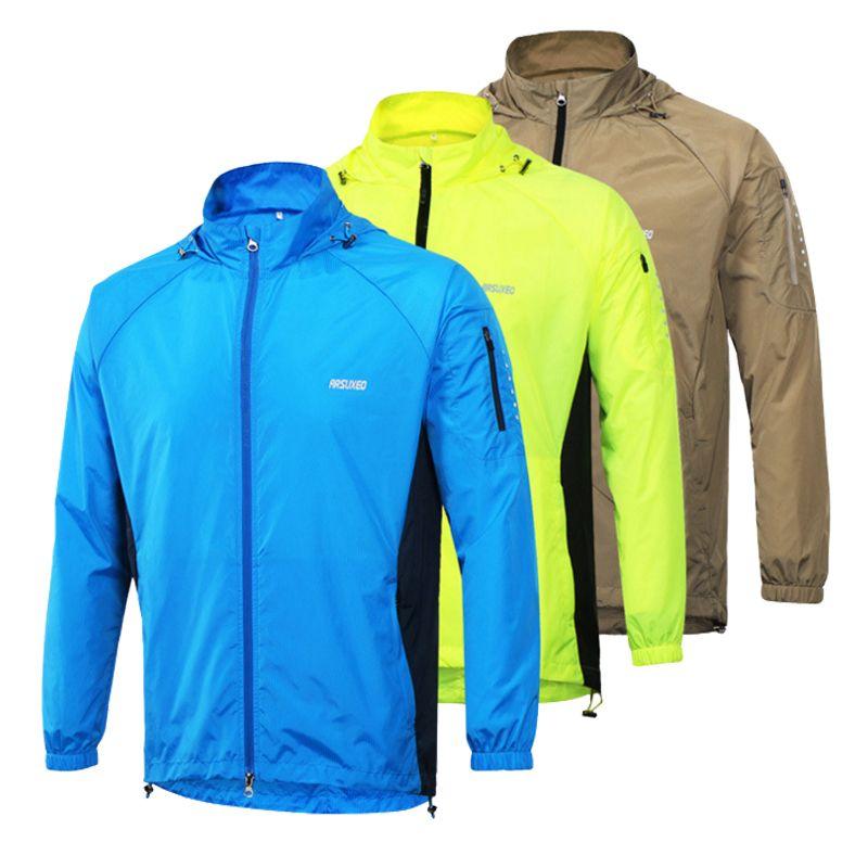 Top Qualität Mens Laufende Jacke Uv-schutz Rennanzüge Lauf Trikots Fitness Sportbekleidung Sport Jacken Für Männer