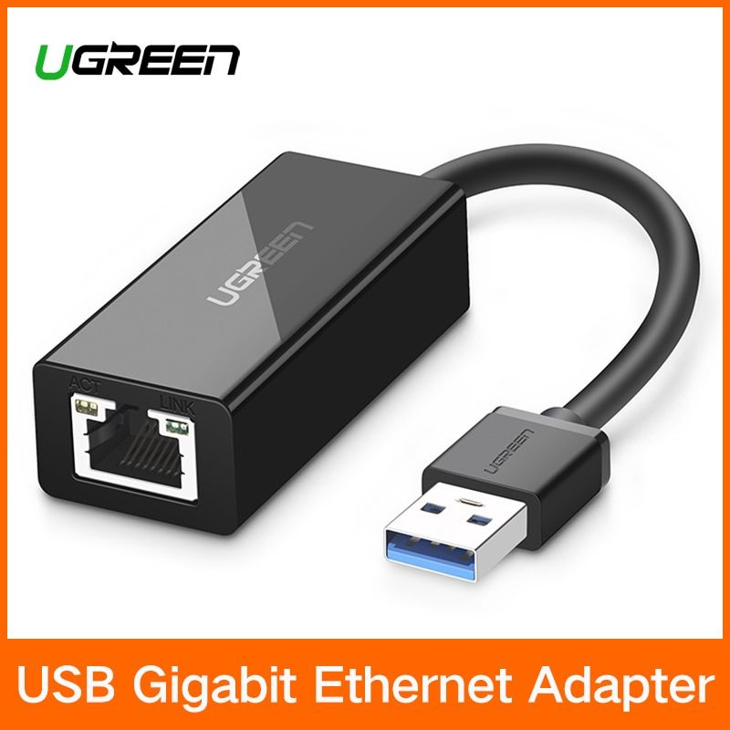 Ugreen USB Ethernet <font><b>Adapter</b></font> USB 3.0 2.0 Network Card to RJ45 Lan for Windows 10 Xiaomi Mi Box 3 Nintend Switch Ethernet USB