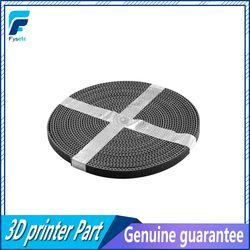 5 m/lot GT2-6mm calendrier ouvert ceinture largeur 6mm GT2 ceinture Rubbr Fiber De Verre coupé à longueur pour 3D imprimante en gros
