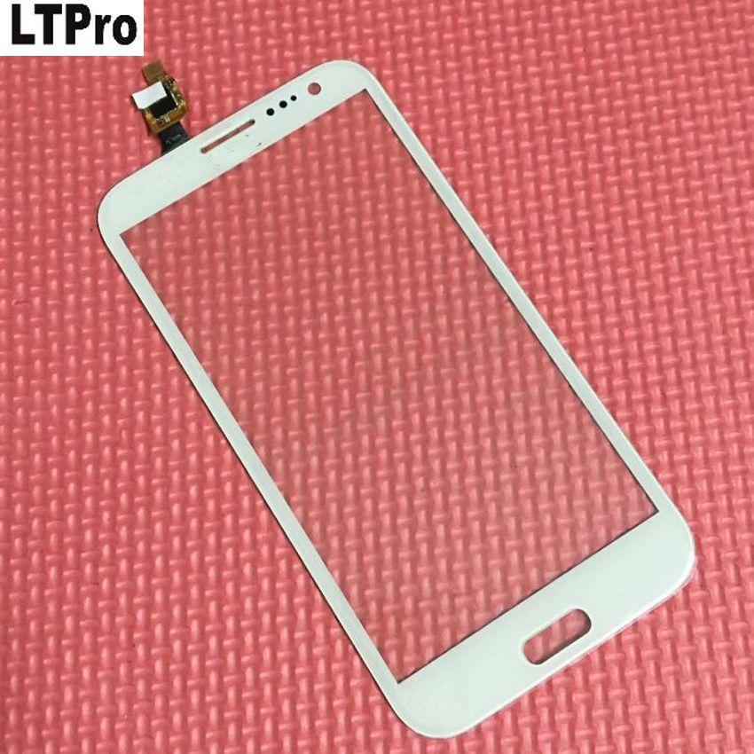 LTPro Schwarz/Weiß Touchscreen Digitizer glasscheibe Objektiv Für THL W7 W7S W7 + Mobilephone Quad Core 1280*720