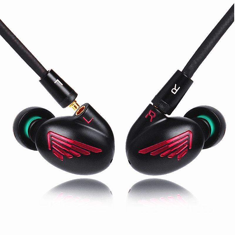2018 Newest LZ A5 In Ear Earphones 4BA+1DD Driver 5Units Hybrid In Ear Headset With Detachable MMCX LZ Earphone