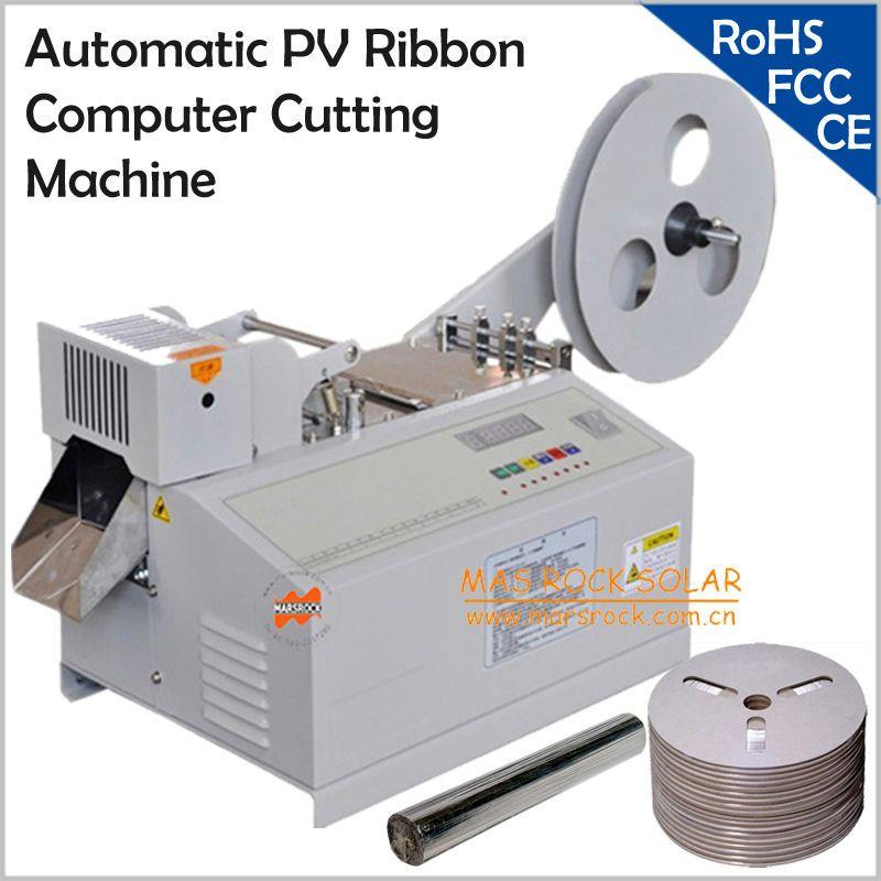 220 V Automatische PV Band computer Schneidemaschine, Solar tabbing draht schneidemaschine, andere band schneidemaschine