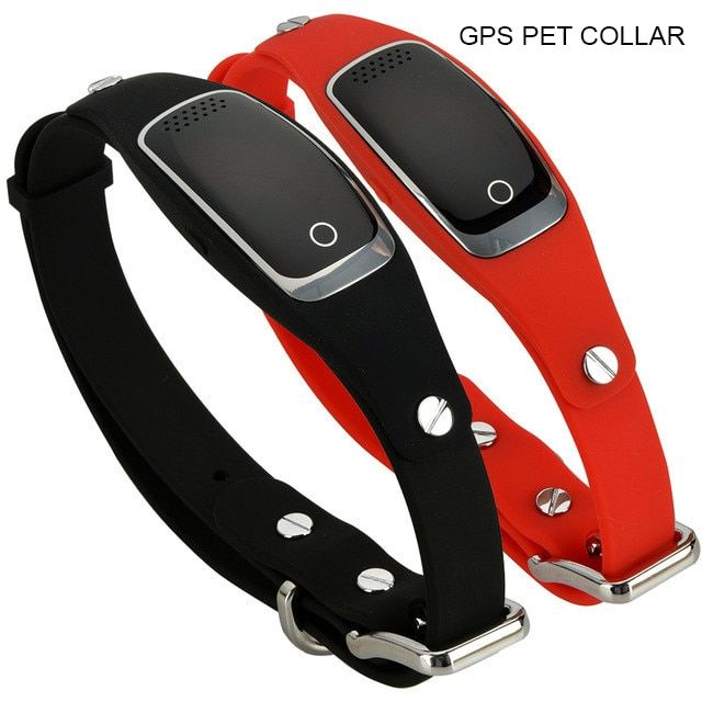 waterproof gps dog collar pet tracker WIFI GPS LBS location real time tracking device