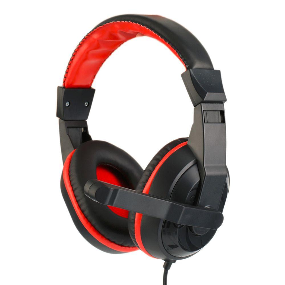 Gaming Kopfhörer 3,5mm Einstellbare Stereo Typ Noise cancelling Computer-Headset Mit Mikrofon Für PC Gamer