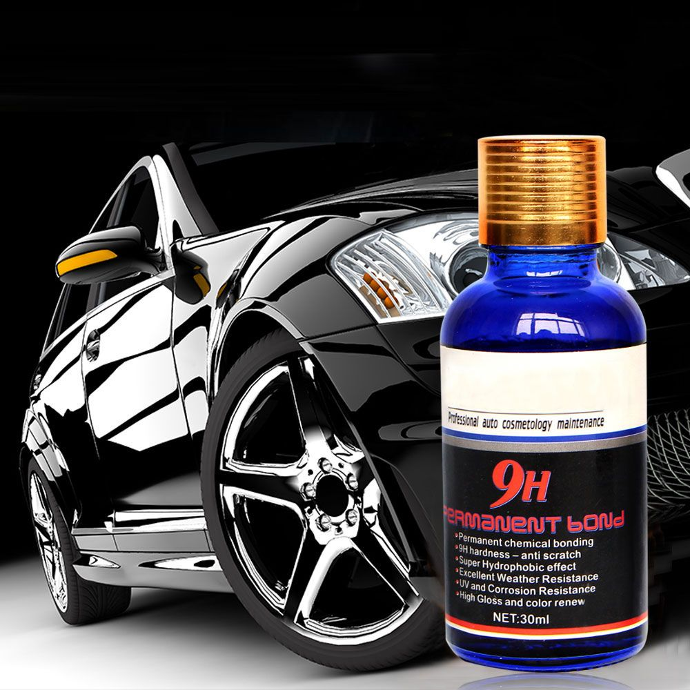9H Ceramic Car Coating Motocycle Paint Care Car Liquid Glass Nano Hydrophobic Car Polish Auto Detailing Water Glass Coating