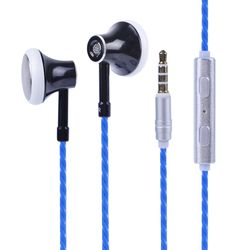 New HEADROOM MS16 In Ear Earphone Earbuds Sports Running Headset With Mic For Phone / PC / Tablet