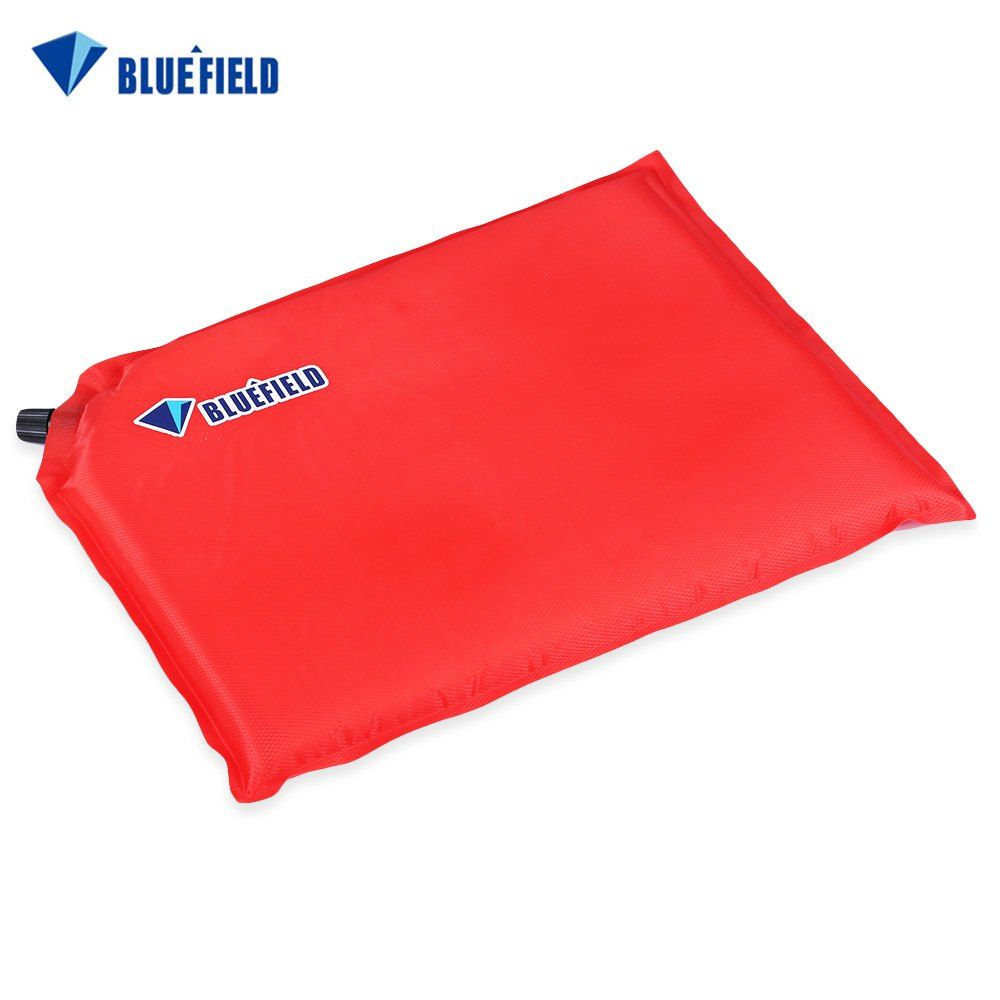 Bluefield Outdoor Inflatable Foldable Sponge Mat Single Person Seat Pad Traveling Hiking Camping Moistureproof Cushion