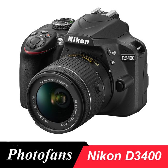 Nikon D3400 DSLR Kamera-24.2MP-Video-Bluetooth (Marke Neue)