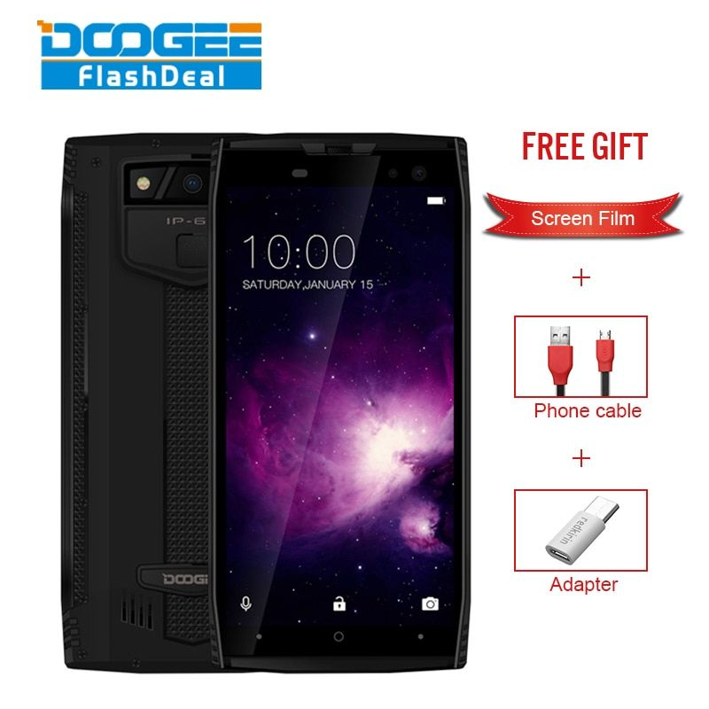 DOOGEE S50 Smartphone IP68 Waterproof face ID 5.7