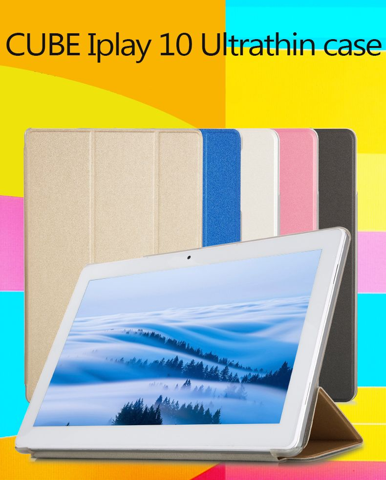 High quality cube iplay10 Fashion Case For CUBE iPlay 10 Tablet, Flip Stand PU Leather Case For 10.6