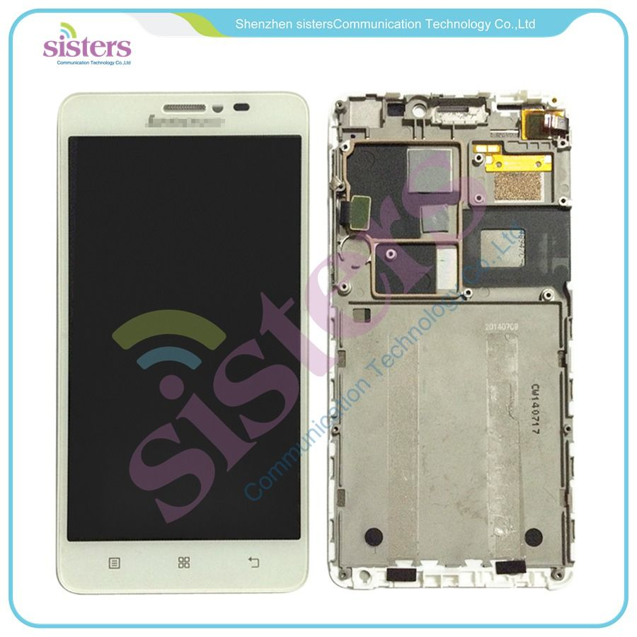 High quality LCD Display Touch Screen Digitizer Assembly With Frame For Lenovo S850 S850T