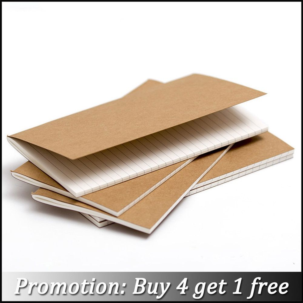 Moterm Handmade Leather Notebook Refill inserts Replace Inner Core Sketchbook Planners 4 Size Travel Diary Journals