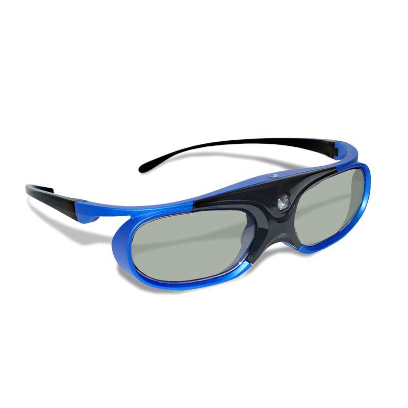 4pcs Active Shutter Rechargeable 3D DLP Glasses Support 144HZ For Xgimi Z3/Z4/Z6/H1/H2 Nuts G1/P2 BenQ Acer &DLP LINK Projector