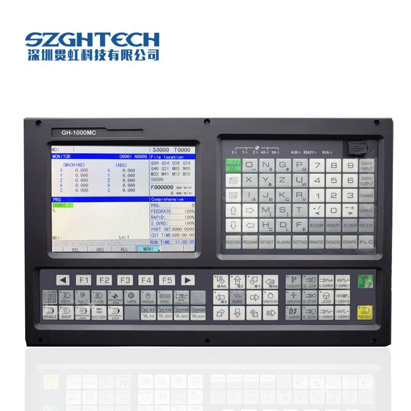 High Grade GH-1000MC 3 cnc-fräsen-controller Mit ATC + PLC unterstützung USB datei verarbeitung, software upgrade von cnc controller