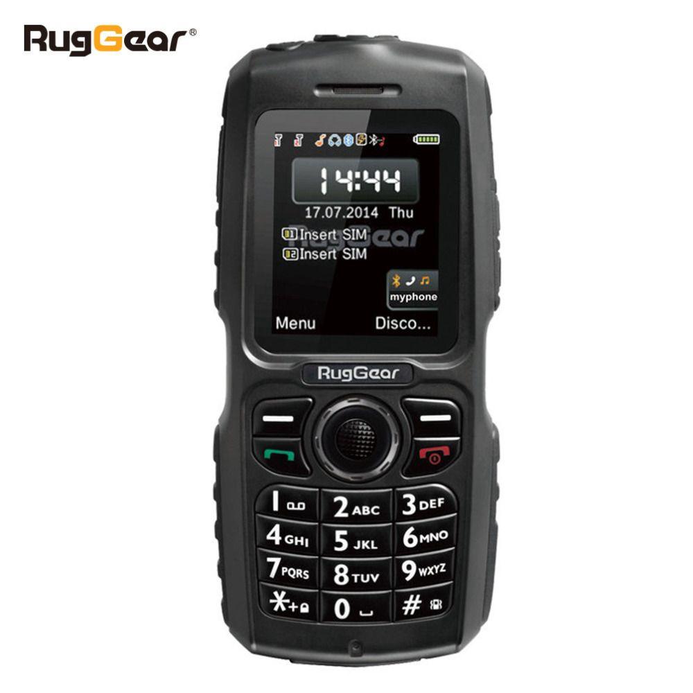 Téléphone étanche téléphone cellulaire robuste-RugGear RG100 Débloqué militaire téléphone portable