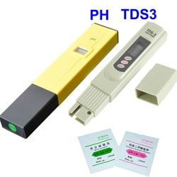 Filtro de agua del Medidor de PH Digital Tester de Calidad de Agua Pureza TDS Probador Dispositivo Electrolítico Prueba PH-009 IA 0.0-14.0pH Acuario